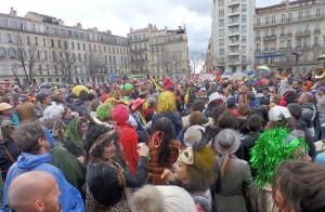 Carnaval autogéré de Noailles et La Plaine 2015, photo Bebegato