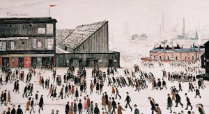 L. S. Lowry: the Project of the Working Class Environment, 1909.