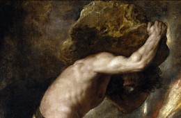 Sisyphus. Found in the collection of Museo del Prado, Madrid. (Photo by Fine Art Images/Heritage Images/Getty Images)