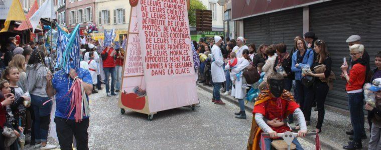 Formes Vives, carnaval des Soufflaculs 2016, St-Claude (Jura)