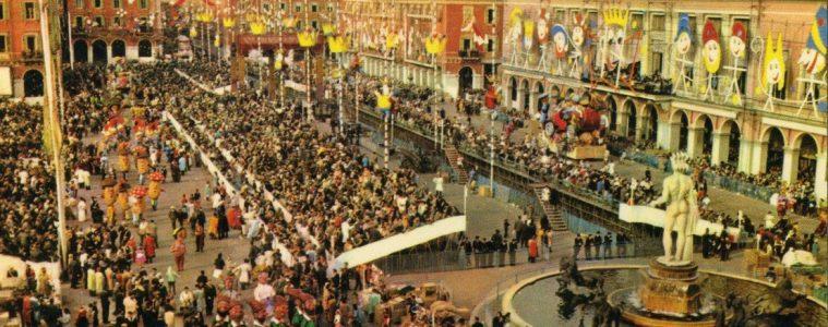Carnaval des années soixantes